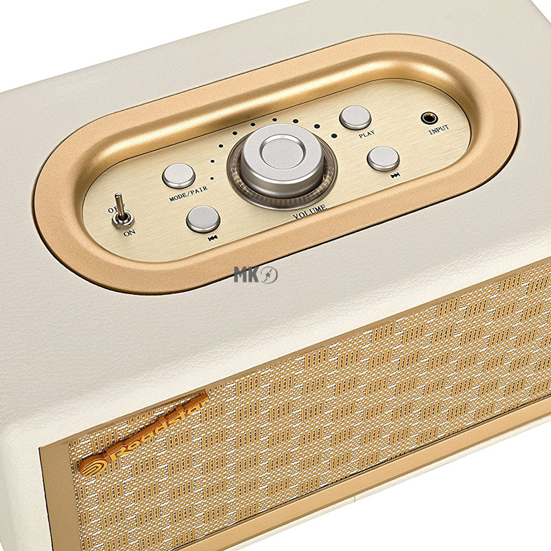 roadstar hra 310bt retro radio mit bluetooth in gold. Black Bedroom Furniture Sets. Home Design Ideas