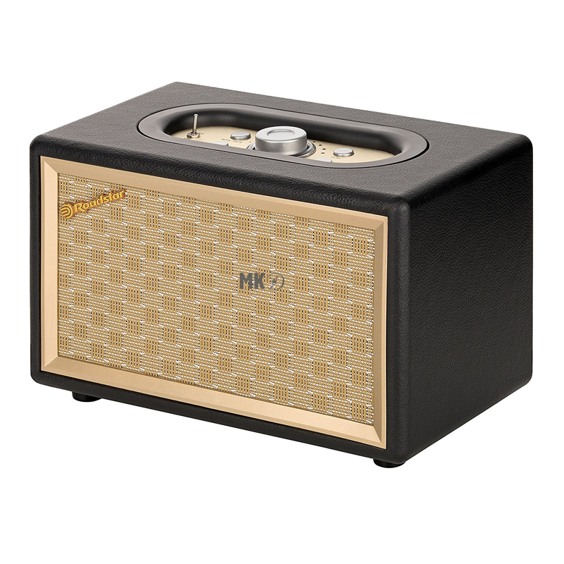 roadstar hra 310bt retro radio mit bluetooth in schwarz. Black Bedroom Furniture Sets. Home Design Ideas